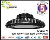 LEIDENE van het UFO 130lm/W van Ce RoHS Goedgekeurde Highbay Lichte 60W, LEIDENE van het UFO Industriële Verlichting, de LEIDENE Industriële Verlichting van de Baai Hig