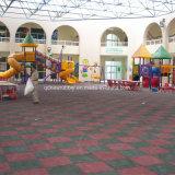 Seguridad infantil de exterior mosaico de goma