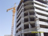 Guindaste de torre da boa qualidade de Hsjj uma capacidade de 8 toneladas