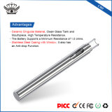 CH5 Calefacción Cerámica del depósito de vidrio de 290mAh. 5 ml de embalaje del cartucho de Vape