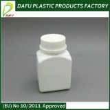 100 мл PE квадратных пластиковых медицины расширительного бачка