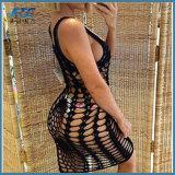 Vestito sexy dal costume da bagno lavorato a maglia occultamento del bikini della nappa di usura della spiaggia