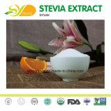 Нулевое потребление калорий природных дополнительного сырья Stevia Steviol Glycoside 95% выдержка из Stevia сухих листьев