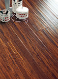 Commercial 8.3mm E0 HDF AC3 Maple Crystal Oak Waxed Edge Wood Laminate Floor