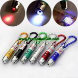 Kleine Taschenlampen-roter Laser-Zeiger Keychain