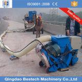 Tiro superficial movible Blasitng de la máquina/del suelo del chorreo de arena de la placa de acero
