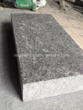 Черная плитка стены гранита вымощая камня базальта G684