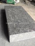 Schwarze Perle Hainan-G684, die Lava-Steingranit-Wand-Fliese pflastert