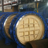 Aço carbono Wcb DIN/GS-C25/ válvula globo de Flange