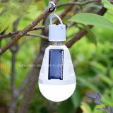 La energía solar portátil Lámpara LED luces de emergencia recargable lámpara colgante impermeable de iluminación de lectura