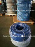 Boyau polyvalent de fibre de textile de tissu de filé de tresse d'air de l'eau de la distribution colorée douce de pétrole