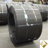 Construction et fil en acier contraint d'avance à haute résistance réel de brin d'Estate& pour le béton