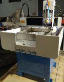 Máquina de grabado de cobre amarillo de aluminio del CNC que muele