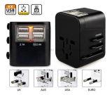 Spine universali dell'impulso di potere del USB della spina di adattatore di corsa del mondo AC/DC Protectorus/UK/Au/EU