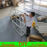 Таблица выставки торговой выставки DIY нестандартной конструкции портативная модульная