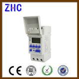Отметчик времени рельса Ahc15A 250V цифров DIN индикации LCD толковейший