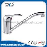 Faucet longo tradicional da torneira de misturador do Flick do dissipador de cozinha da bacia do banheiro