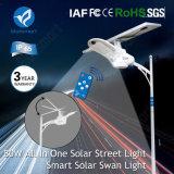 Éclairage extérieur de rue solaire de DEL avec 3 ans de garantie