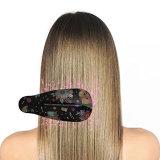 Rizar el cabello Cabello cepillo alisador de cerámica recta Flat Iron peine