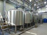 15バレルの蒸気熱くするビール醸造装置