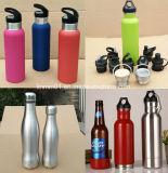 Fles van het Water van de Sport van de Stijl van de Manier van het Roestvrij staal van de douane de Dubbele Muur Geïsoleerde) Vacuüm