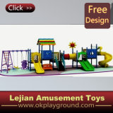Popular na Europa Children Outdoor Plastic Playground (X1502-1)