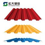 Из стали с полимерным покрытием SGCC PPGI катушки для кровельных листов мозаики