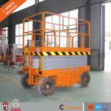 De Batterij van de dieselmotor of van gelijkstroom of AC de Mobiele Hydraulische Lift van de Schaar