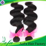 2015熱い販売100%のさまざまなバージンのRemyの毛は波を緩める