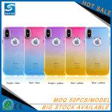 TPU 쉘 색깔 iPhone x를 위한 변화 전화 상자