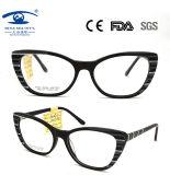 2018 Eyeglasses quentes de Eyeshape Limination do gato do acetato da venda da chegada nova