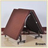 Кровать гостиницы с лиловой кроватью тюфяка 190*70cm/Foldable