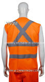 Общее Workwear/Safety Vest с High Visibility Reflective Tape