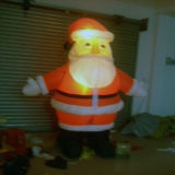 2015 poste neuf Santa gonflable pour Noël
