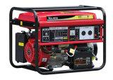 8 квт Air-Cooled два цилиндра бензин генератор с колесами (GG12000E)