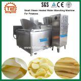 Équipement de fabrication de croustilles petite machine de blanchiment de l'eau chauffée à vapeur pour les pommes de terre