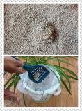 먼지가 없는 응집 벤토나이트 고양이 배설용상자