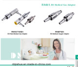 Venta caliente de China Fábrica de diferentes estándar de gas médico Terminal / Outlet O2 / Air / VAC