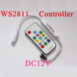DC5-24V Mini Controlador de luz LED Remoto RF CONTROLADOR LED RGB