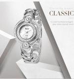 2017 de Hete Nieuwe Merknaam Belbi van de Band van het Roestvrij staal van de Gesp van de Juwelen van de Horloges van de Manier van de Diamant van de Dames van het Polshorloge van de Vrouwen van de Stijl Mooie Gouden Zilveren