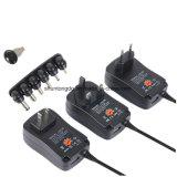 3V 4,5 5V 6V de 7,5 voltios 9V 12V 2A 2.5A AC DC Adaptador de corriente ajustable Adaptador de alimentación Cargador universal para la Tira de luz LED 30W luz