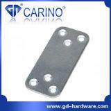 (W527) O canto liso do metal de aço apoia o suporte do ângulo T das placas da emenda