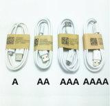 Cable de datos micro atado con alambre accesorios del USB de la cuerda del teléfono móvil para Samsung