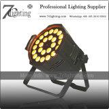 Van de LEIDENE van het PARI van Barndoor Controle van de Verlichting DMX Vlek RGBW van de Verlichting 24X12W Stand-Alone Correcte