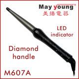 工場は24ダイヤモンドのハンドルの陶磁器のヘア・カーラーの毛のヘアアイロンを供給する