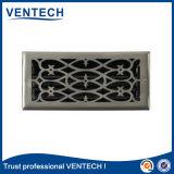 La griglia del cunicolo di ventilazione del sistema di HVAC ha galvanizzato la griglia d'acciaio del registro del pavimento dell'aria con l'ammortizzatore