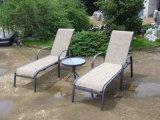 家具の庭の藤のChaise浜の日曜日の現代カスタマイズされた屋外のLounger