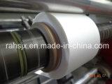Bâti horizontal fendant la machine non-tissée de tissu de rebobinage