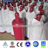Frasco de gás sem emenda de alta pressão do cilindro do acetileno 40L para a venda