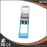 QSFP Cisco-40G-LR4 compatível 40GB Suporte Multi-rate LC, 10 Km, quatro comprimentos CWDM 10 Gbps transceptor + QSFP